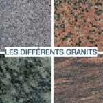 les differents granits