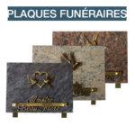 plaques funeraire