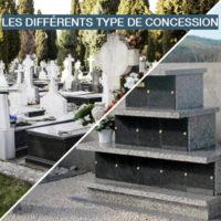 type de concession funéraire