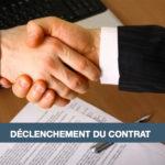 déclenchement du contrat